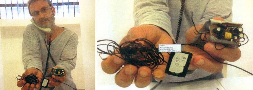 Polícia Federal chegou à conclusão que houve um erro na investigação sobre a instalação de um grampo ilegal na cela do doleiro Alberto Youssef; primeira sindicância sobre o caso apontava que a escuta havia sido colocada antes da chegada do operador na sede da PF em Curitiba; foco central da investigação, o agente da PF Dalmey Werlang primeiro disse que a escuta já existia e estava inativa; depoisacusou seus superiores de pedirem para que instalasse o equipamento sem autorização judicial; quase dois anos depois, a PF ainda não concluiu a origem nem mesmo a data exata de instalação do grampo encontrado pelo doleiro