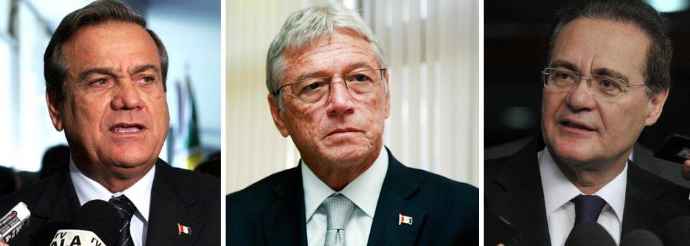 Levantamento feito pelo Instituto Paraná Pesquisasmostra o deputado federal Ronaldo Lessa (PDT) com 35,3% das intenções; o ex-governador Teotônio Vilela (PSDB) com 27,8%; e o senador Renan Calheiros (PMDB) com 25,1%; Maurício Quintella (PR) tem 18,0%, Benedito de Lira (PP), 17,8% e Marx Beltrão (PMDB), 16,0%; levantamento entrevistou 1.500 eleitores alagoanos em 46 municípios entre os dias 6 e 9 de março