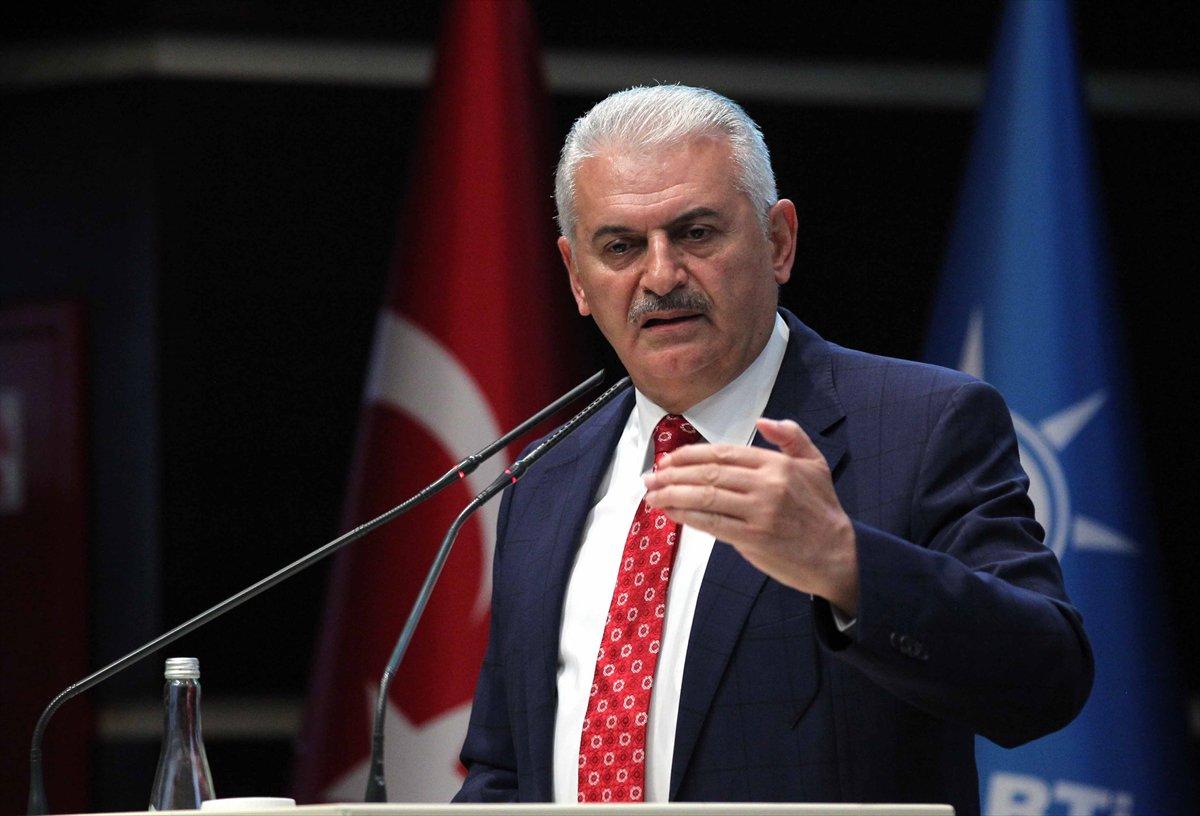 O primeiro-ministro da Turquia, Binali Yildirim