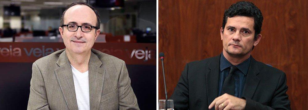 """""""Se o depoimento do petista ao juiz for mesmo adiado"""", não é a decisão de prender Lula nem o medinho de Sergio Moro o possível motivo, """"é outra coisa que está na raiz da decisão. E atende pelo nome de 'prova'. Ou falta dela"""", diz o blogueiro de Veja; Reinaldo Azevedo afirma que ele próprio acredita que o triplex era de Lula, assim como outros jornalistas, mas que os documentos da OAS """"apontam que não"""";""""O estado de direito pede que o órgão acusador forneça a prova de que é"""", diz"""