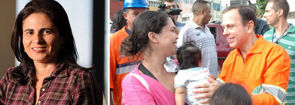 """""""Se não é o governo que atende a população, mas os empresários, a política beira a irrelevância. Abandona a mediação de interesses para fomentar o ódio aos culpados. No caso de Doria, a petistas e pichadores"""", escreve a jornalistaMaria Cristina Fernandes; segundo ela,o prefeito de São Paulo, """"que ascendeu na vida empresarial retribuindo seus mais generosos patrocinadores com acesso privilegiado aos palestrantes de seus eventos"""", agora """"custa a convencer ter abandonado tão repentinamente o modus operandi"""""""
