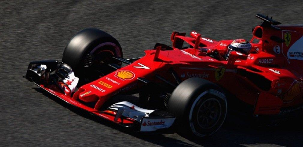 Os pilotos de Fórmula 1 encerraram os testes da pré-temporada na sexta-feira (10), quando Kimi Raikkonen ditou o ritmo com sua Ferrari e fez o melhor tempo até o momento no Circuito da Catalunha; o companheiro de equipe de Raikkonen e tetracampeão mundial Sebastian Vettel havia sido mais veloz na quinta-feira – 1min19seg024; a temporada começa na Austrália, no dia 26 de março