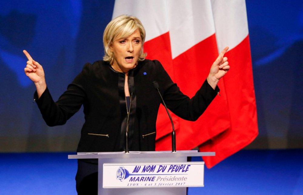 Líder da extrema-direita francesa, Marine Le Pen. 05/02/2017 REUTERS/Robert Pratta