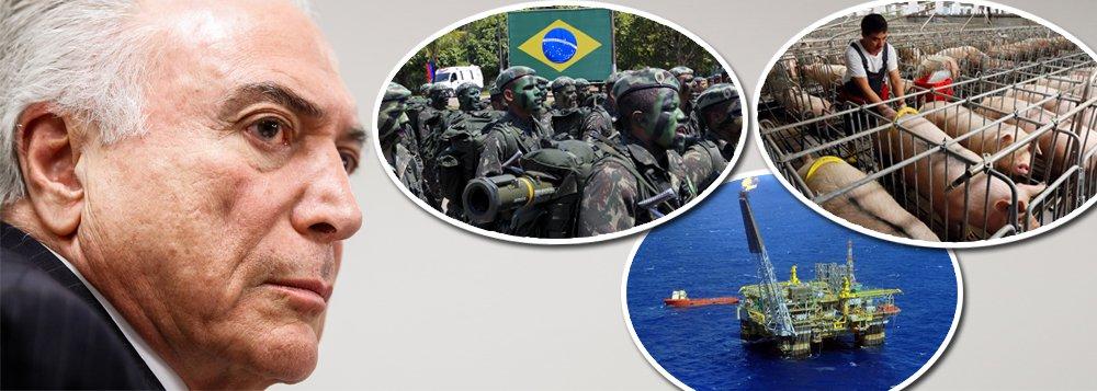 """""""Nunca ninguém comprou reservas provadas de petróleo a preço tão baixo, praticamente uma doação. Nunca ninguém haverá de comprar nióbio, ouro, tântalo e outras riquezas minerais da Amazônia a preços tão convidativos. Jamais alguém haverá de comprar energia hidrelétrica, já amortizada, por valores tão aviltados. De brinde, ainda podem levar as nossas terras e a Casa da Moeda"""", diz o colunista Marcelo Zero, sobre este 7 de setembro, em que o Brasil celebra a dependência e o fim da democracia"""