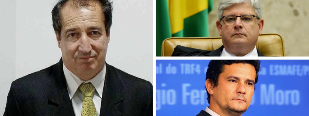 """""""O estopim do impeachment foi a divulgação da conversa de Dilma e Lula. Janot avalizou-a. Temer, antes da Presidência -agora está blindado-, já constava em listas e menções de propina. Janot nunca investigou. Onde há imparcialidade?"""", critica o procurador da RepúblicaCelso Antônio Três, 54; responsável pelo processo do Banestado, o procurador mostrou-se ainda bastante crítico quanto a alguma ações do juiz federal Sérgio Moro: """"A condução injustificada de Lula, sucedida pela divulgação de interceptação clandestina –sem outorga judicial, estopim do impeachment–, maculou a imparcialidade""""; Celso Antônio Trêsdefendeu o sigilo das delações durante as investigações, alegando que a divulgação de informações compromete os resultados"""