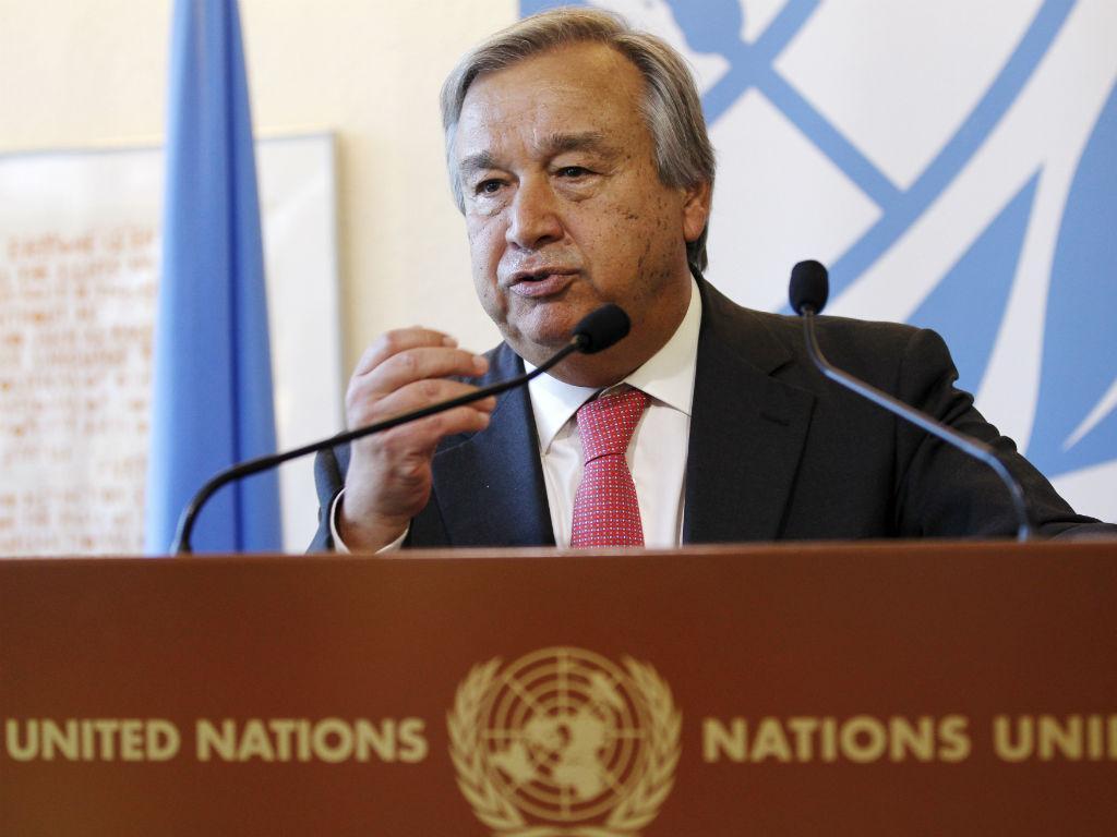 """O secretário geral das Nações Unidas, António Guterres, elogiou o que chamou de """"ação firme"""" do Conselho de Segurança da ONU; após a aprovação de novas sanções contra a Coreia do Norte; em nota, emitida nesta terça-feira pelo seu porta-voz, Guterres disse que a unidade do Conselho é fundamental para combater os desafios de insegurança na Península Coreana e mais além"""