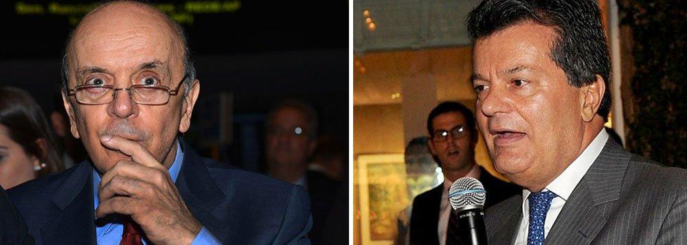Ministério Público Federal pretende pedir ajuda às autoridades suíças para apurar as contas de pessoas suspeitas de serem operadores do senador e ex-ministro José Serra (PSDB-SP); procuradores querem que a Suíça congele os recursos em contas no nome de Ronaldo Cezar Coelho, apontado como um dos operadores de José Serra na campanha presidencial de 2010; possibilidade de pedir auxílio às autoridades suíças teria sido discutida em uma reunião ocorrida em janeiro entre o procurador-geral da República, Rodrigo Janot, e o procurador suíço, Michael Lauber; segundo o Ministério Público da Suíça, não existe investigação aberta contra José Serra.