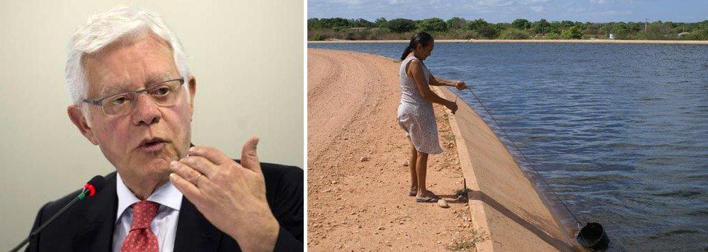 """Ministro Moreira Franco, atingido em cheio logo cedopela entrevista de Dilma ao Valor nesta sexta, onde ela diz que """"o gato angorá tem uma bronca danada de mim porque eu não o deixei roubar"""", resolveu reagir pelo Twitter dizendo que, """"em 6 anos, Dilma não conseguiu entregar as obras de transposição do rio São Francisco. Nós entregamos em seis meses""""; """"Seu chefe vai ficar com ciúmes, Moreira. Você roubou a festa dele como usurpador com este papel de 'calangorá' que arranjou, rastejando"""", ironiza Fernando Brito, do Tijolaço"""