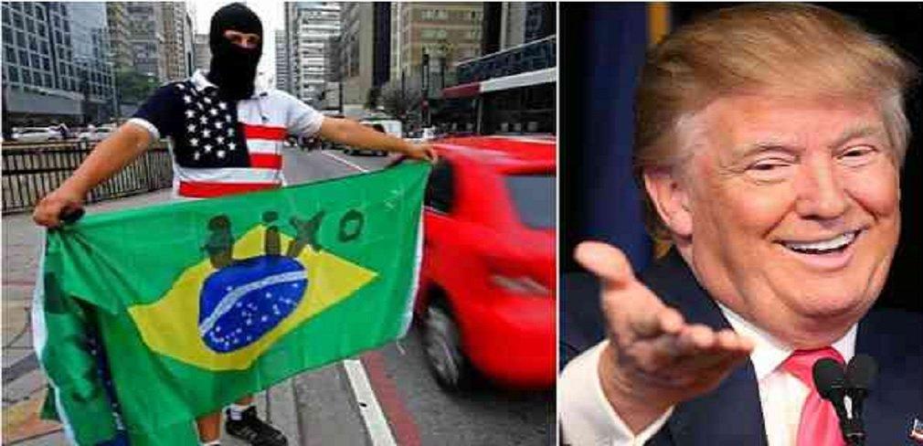 """""""Há uma importante parcela de brasileiros afetada pelo complexo de vira-latas, que não acredita no país, torce pelos Estados Unidos, se posicionado contra os irmãos das nações latino-americanos. Trata-se de militantes políticos que se consideram mais à direita que o Partido Republicano, flertam com o fascismo, e adoram Bolsonaro"""", afirma o blogueiro e colunista do 247, Esmael Morais; nesta sexta-feira, o presidente Donald Trump anunciou em discurso uma nova doutrina na América Latina"""