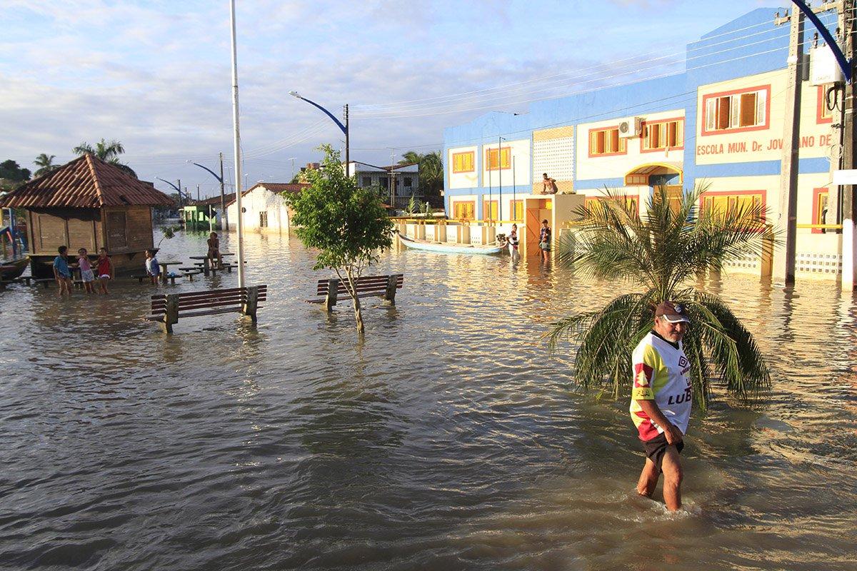 30 -05 2017-Maceio AL Brasil Chuvas causam mortes no nordeste do País nos estados de Alagoas ,Pernambuco e Paraiba Foto: Thiago Sampaio / Agência Alagoas