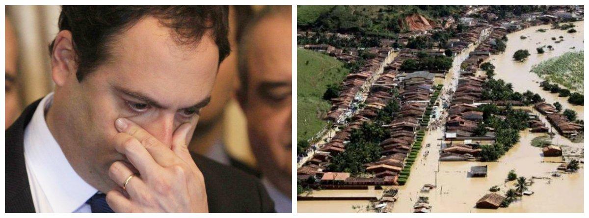 Governador de Pernambuco, Paulo Câmara (PSB), e enchentes na Zona da Mata Sul .2
