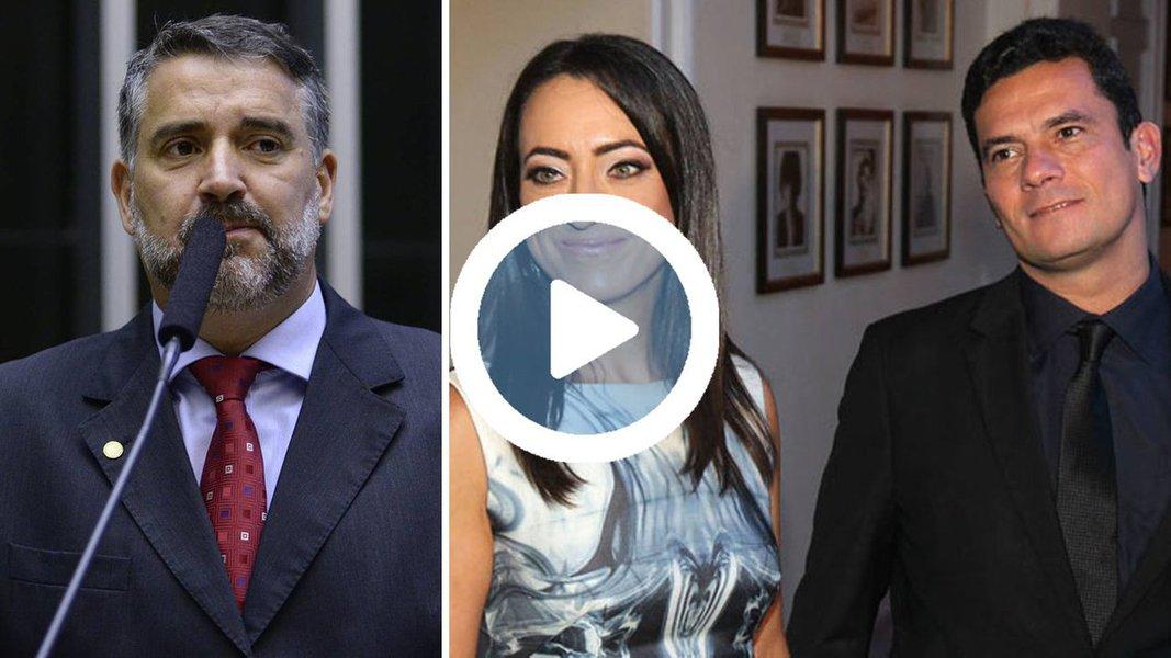 """Em vídeo, deputado questiona se o juiz Sergio Moro poderia ter julgado o advogado Rodrigo Tacla Duran, uma vez que sua esposa, a advogada Rosângela Moro, recebeu valores de Tacla Duran por meio de seu escritório na área trabalhista; """"Há dois anos e meio a Lava Jato sabe disso.Por que tais fatos não foram revelados?"""", pergunta; assista"""