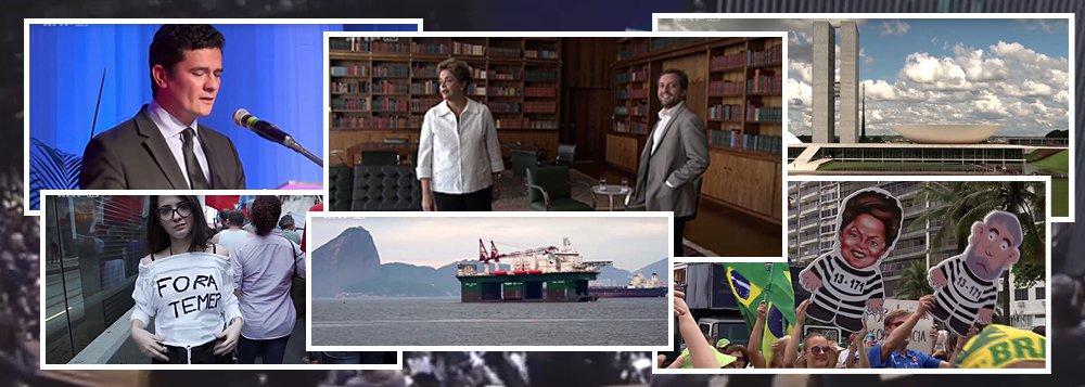 """Transmitido pela TV franco-alemã ARTE nessa terça-feira 18, o documentário """"Brasil: O grande salto para trás"""", das francesas Frédérique Zingaro e Mathilde Bonnassieux, mostra quem foram os políticos que, há um ano, votaram pela abertura do processo de impeachment na Câmara dos Deputados e mudaram o destino da então presidente Dilma Rousseff e de todo o País – homens ligados a empresas, grandes fazendeiros, conservadores e corruptos; o filme coloca a pergunta """"Como será o futuro agora?"""" e foca em uma perspectiva de um triste destino para a esquerda nacional, a exemplo do que ocorreu em diversos países da América Latina"""