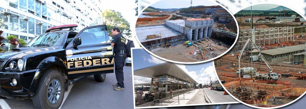 Rastro da operação que investiga o escândalo de corrupção em contratos da Petrobras atinge construções de Norte a Sul do Brasil, que, se estivessem em operação, trariam diversos benefícios para a população, como mobilidade urbana, rodovias, universidades e centros de saúde, além da economia, como os investimentos da Petrobras; todas elas têm em comum o envolvimento de empreiteiras que são investigadas pela Polícia Federal por corrupção e com graves problemas financeiros para dar sequência às construções; levantamento foi feito pela Câmara Brasileira da Indústria da Construção (Cbic) e pelo Estado de S.Paulo