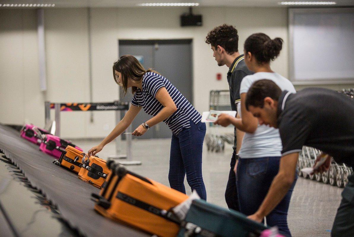 bagagem voo