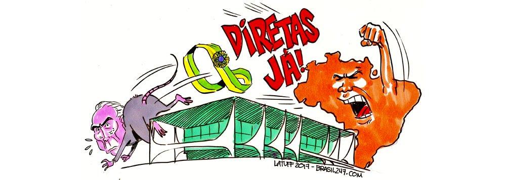Os ratos estão sendo expulsos do Palácio do Planalto; agora, é hora de garantir eleições diretas e a volta imediata da democracia