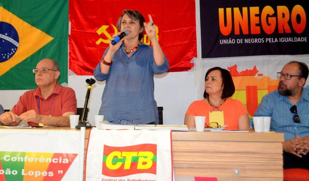 A Conferência do Partido Comunista do Brasil (PCdoB) no Distrito Federalaprovou como pré-candidatos ao Governo do DF nas eleições de 2018 os nomes de Emília Fernandes, Volnei Garrafa e Olgamir Amância; na convenção, também foi eleita a nova direção do PCdoB, com 45 membros de todas as regiões do DF