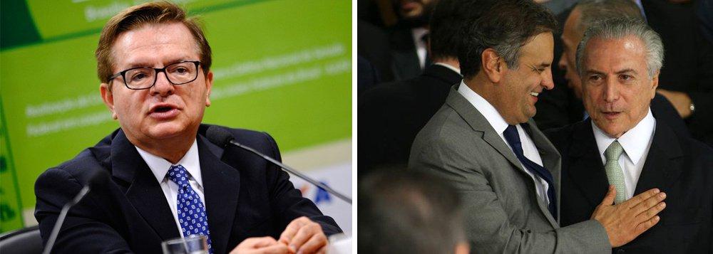 """""""A permanência de Michel Temer na presidência do país cada vez mais assemelha-se à manutenção de Eduardo Cunha na presidência da Câmara: lá permanecerá enquanto for necessário para dar viabilidade ao golpe"""", diz o jornalista Fernando Brito, do Tijolaço; """"Daquela vez, ao golpe eleitoral, com o impeachment. Agora, o golpe social, com a degola dos direitos previdenciários"""""""