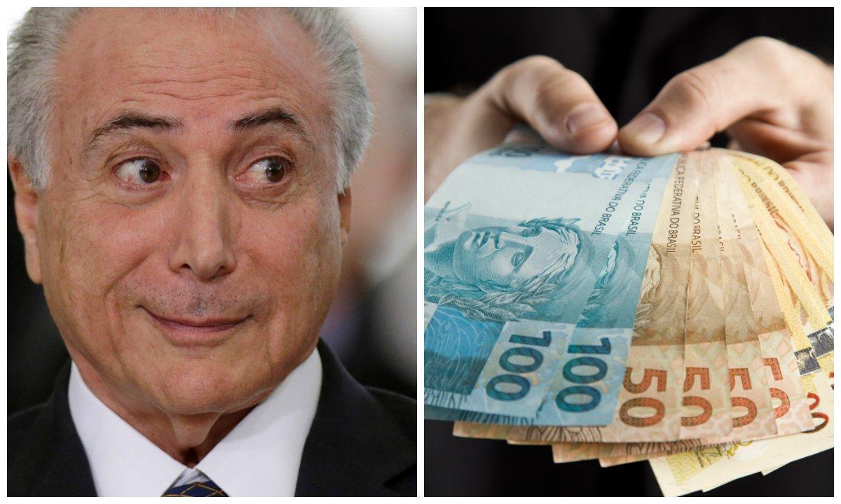 Michel Temer, crédito, dinheiro