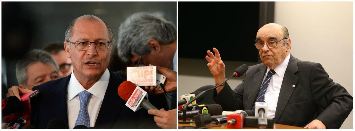 O governador de São Paulo, Geraldo Alckmin (PSDB), fez questão de deixar claro que não endossou a movimentação do líder do PSDB na Câmara, Ricardo Tripoli (PSDB), para retirar da CCJ o deputado Bonifácio de Andrada (PSDB-MG), que era relator da segunda denúncia contra Temer e já prometia arquivá-la