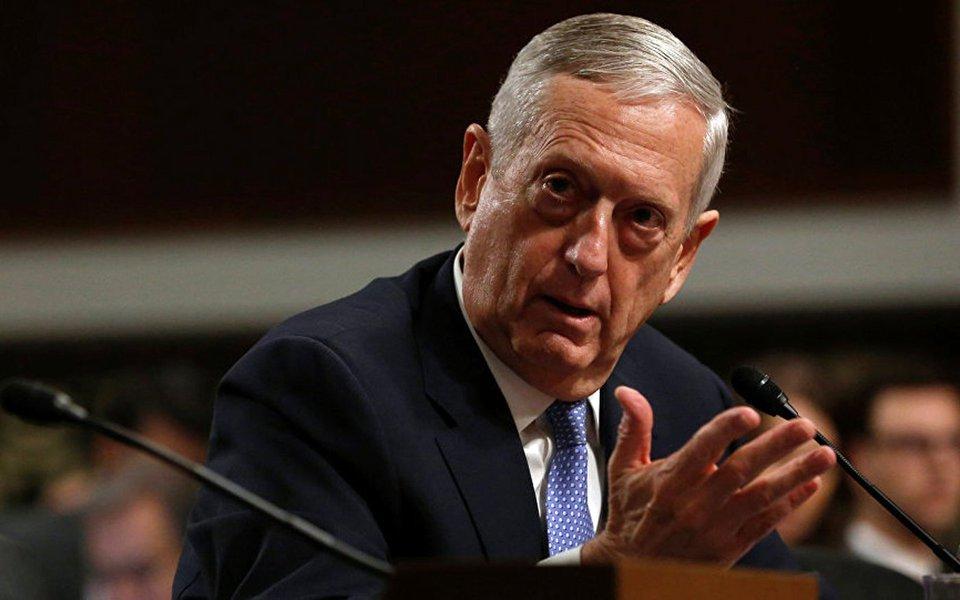 """Secretário de Defesa dos Estados Unidos, general James Mattis, declarou que a sua principal responsabilidade na qualidade do chefe do Pentágono é ter cenários de resolução militar do conflito com a Coreia do Norte;""""Estamos prontos"""", anunciou. antes, o presidente norte-americano, Donald Trump, afirmou que a Coreia do Norte """"vai receber fogo e fúria como o mundo nunca viu"""" se voltar a ameaçar os Estados Unidos; horas depois, o governo de Kim Jong-un anunciou um plano para atacar Guam com mísseis balísticos"""