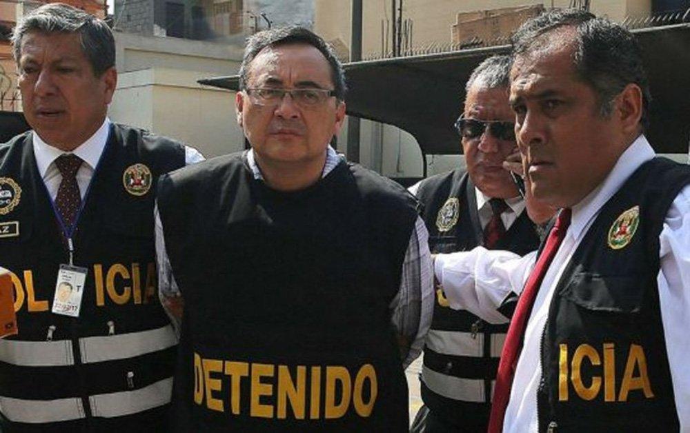 Juiz Richard Concepción decretou 18 meses de prisão preventiva contra Víctor Muñoz Cuba, envolvido na propina de US$ 6,2 milhões da Odebrecht paga ao ex-vice-ministro de Comunicações Jorge Cuba Hidalgo para a construção da Linha 1 do metrô de Lima; Ministério Público do Peru investiga propinas de US$ 29 milhões pagas pela Odebrecht em um período que compreende o governo de Alejandro Toledo (2001-2006), o segundo governo de Alan García (2006-2011) e o de Ollanta Humala (2011-2016)