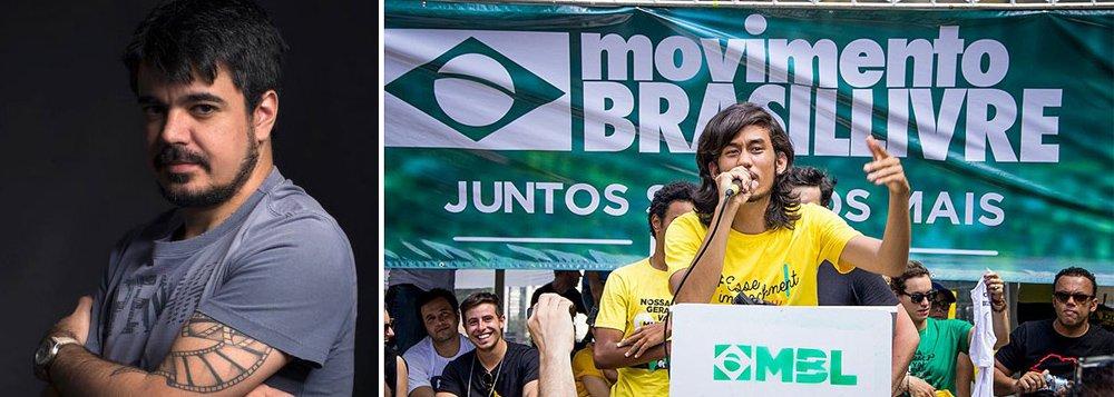 O crítico de cinema mineiro Pablo Villaça comentou a pressão feita pelo Movimento Brasil Livre para que o Santander encerrasse uma exposição em Porto Alegre sobre diversidade e temática queer; para Villaça, o MBL age como uma milícia fascista e usa a luta contra a corrupção para agir como censor da liberdade de expressão