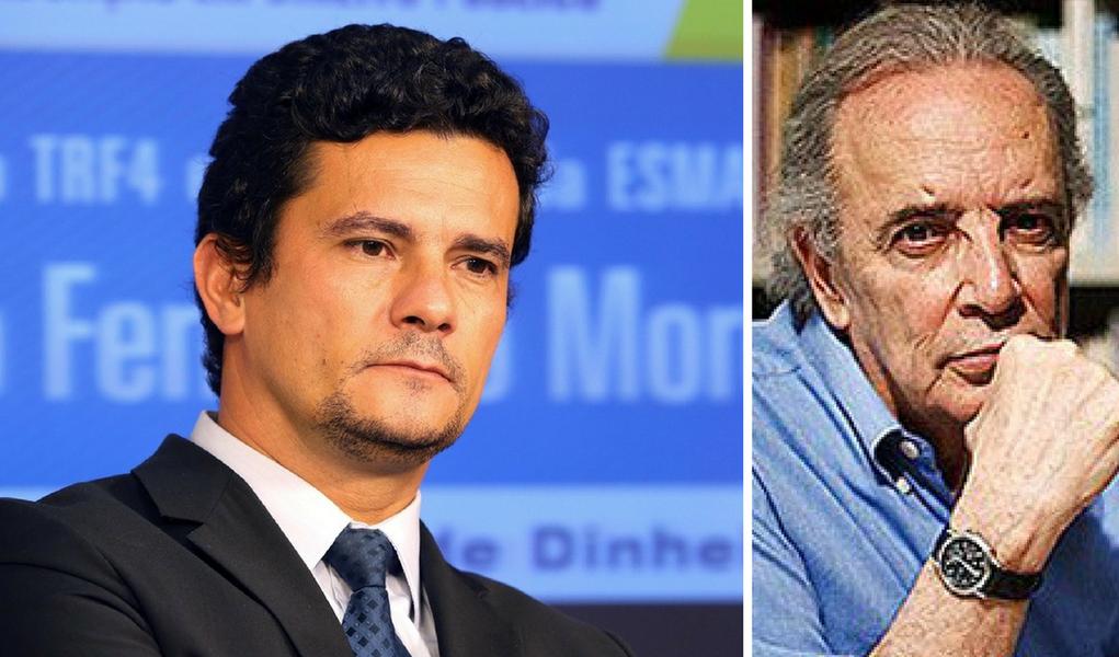 """O colunista Janio de Freitas criticou duramente a decisão do juiz federal Sérgio Moro de exigir a presença do ex-presidente Lula durante as audiências de 87 testemunhas; """"Um ato estritamente pessoal. De raiva, de prepotência. É uma atitude miúda, rasteira. Incompatível com a missão de juiz. De um """"julgador"""", como Moro se define"""", classificou Janio"""