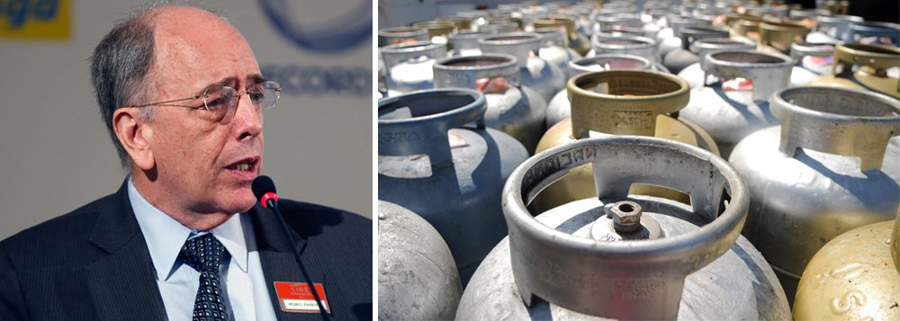 Companhia presidida por Pedro Parente anunciou novo aumento do gás liquefeito de petróleo (GLP) para uso residencial, vendido em botijões de até 13 quilos (GLP P-13), conhecido como gás de cozinha; reajuste será, em média, de 12,9% e começa a vigorar nesta quarta-feira, 11; último reajuste foi feito em 26 de setembro