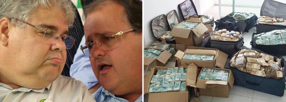 """Polícia Federal (PF) encontrou no """"bunker"""" onde estavam os R$ 51 milhões manuseados pelo ex-ministro Geddel Vieira Lima (PMDB) uma fatura de uma mulher que é empregada do irmão dele, o deputado federal Lúcio Vieira Lima (PMDB-BA); além disso, duas testemunhas ouvidas pela PF – o dono do imóvel onde o dinheiro foi apreendido e a administradora do condomínio – afirmaram que o apartamento foi emprestado a Lúcio; os irmãos são dois dos políticos do PMDB mais próximos e íntimos do presidente Michel Temer; os """"fortes indícios"""" são de que o dinheiro de fato pertence a Geddel, segundo a manifestação da PF enviada à Justiça"""
