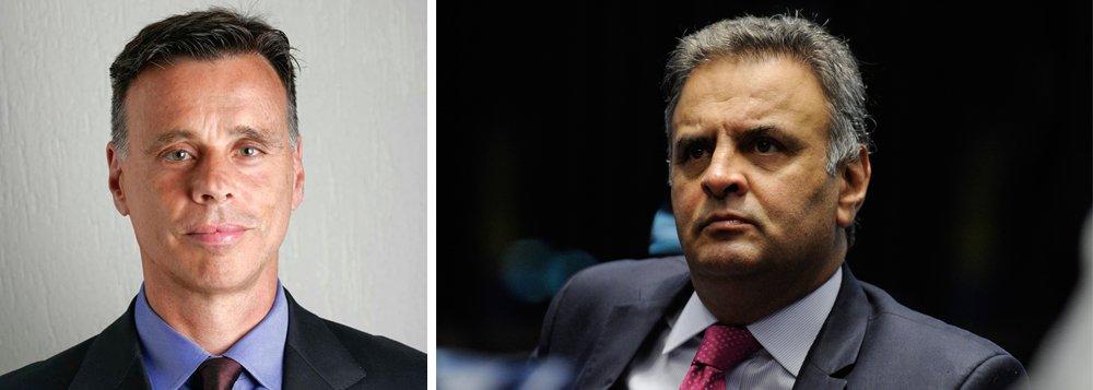 Quem aponta é o jornalista Lauro Jardim, responsável pela divulgação dos grampos da JBS; segundo ele, Aécio não colocou os pés para fora de sua mansão, no Lago Sul, desde o dia 17 de maio deste mês; Aécio tem um pedido de prisão, formulado pelo procurador-geral Rodrigo Janot, que ainda não foi julgado