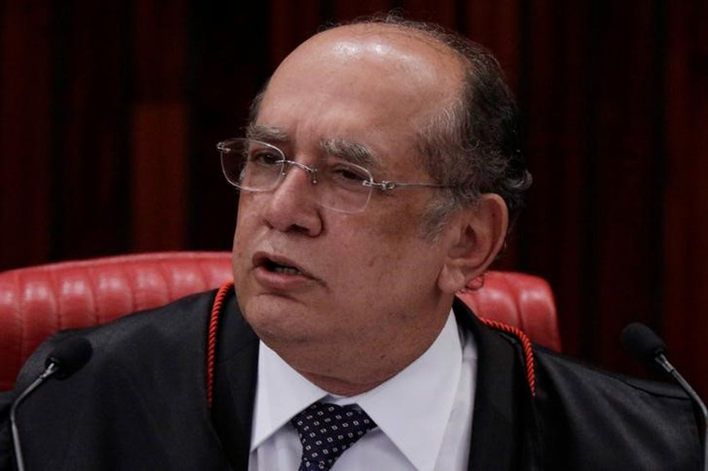 Gilmar Mendes durante sessão do TSE em Brasília 8/6/2017 REUTERS/Ueslei Marcelino