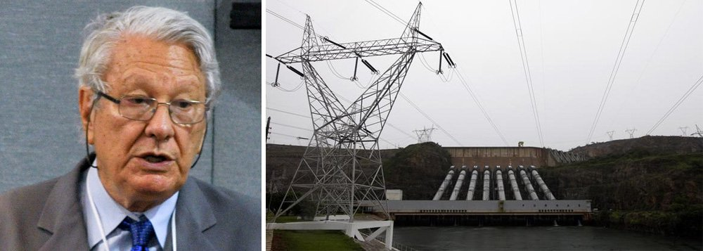 """""""O governo declarou que as tarifas cairão, o que é uma falácia. Para o consumidor cativo da rede, elas subirão, pois ativos amortizados serão revalorizados. Que vantagem traria sua privatização para a sociedade brasileira?Há grandes estatais muito eficientes no mundo, como a EDF francesa, a Hydro-Québec (no Canadá), a Tennessee Valley Authority, nos EUA. Aliás, nos EUA, praticamente todas as hidrelétricas são estatais"""", diz Luiz Pinguelli Rosa, ex-presidente da Eletrobrás"""