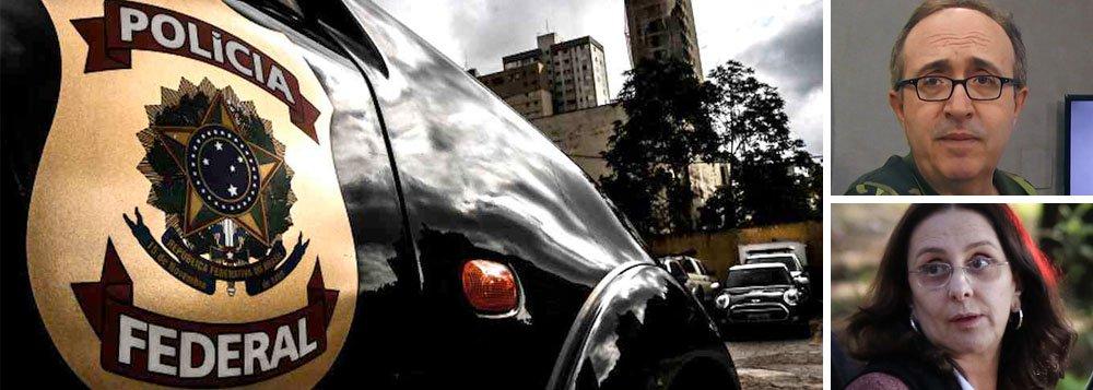 """Em nota à imprensa, a Polícia Federal se eximiu de responsabilidade sobre a divulgação do grampo de conversa entre o jornalista Reinaldo Azevedo e Andrea Neves, irmã do senador Aécio Neves (PSDB); segundo a PF,o áudio do telefonema não consta de autos circunstanciados da investigação; """"O diálogo não foi lançado em qualquer dos autos circunstanciados produzidos no âmbito da ação cautelar, uma vez que conversas não diziam respeito ao objeto da investigação"""", informou; segundo a corporação, caberia ao juiz que autorizou o grampo, o ministro Edson Fachin, decidir pela inutilização da escuta, que era parte da investigação"""