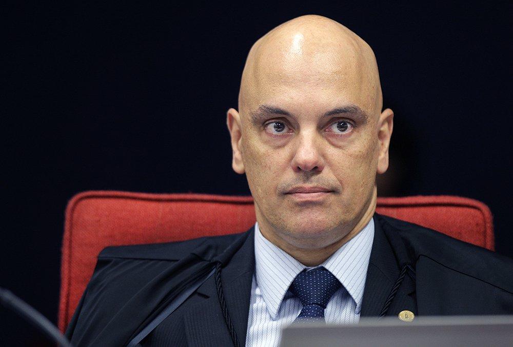 "BRASILIA DF 28/03/2017 POLITICA Ministro Alexandre de Moraes preside sess""o da 1™ turma do STF. Foto: Nelson Jr./SCO/STF"