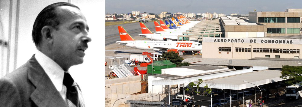 Aeroporto na zona sul de São Paulo será rebatizado com o nome de José Freitas Nobre; o parlamentar cearense foi deputado por seis mandatos e notabilizou-se pela luta contra a ditadura e em favor da redemocratização do Brasil