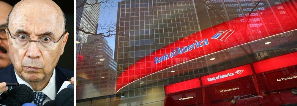 O Bank of America, uma das maiores instituições financeiras dos Estados Unidos, divulgou relatório nesta quarta-feira em que derrubou as previsões para a economia brasileira; a estimativa de PIB caiu de 1% para 0,25% em 2017 e de 3% para 1,5% em 2018; desde o início, o golpe já reduziu a riqueza brasileira em mais de 10% e continua destruindo a economia