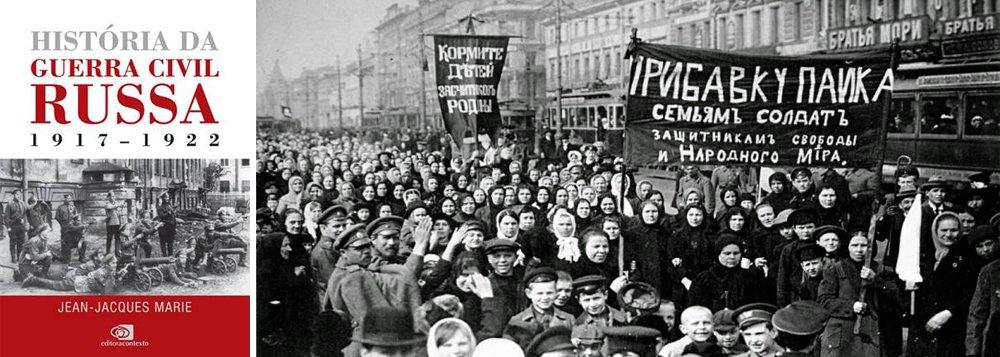 Os bolcheviques tomaram o poder em um golpe quase sem derramamento de sangue. Para entender o conflito a fundo, a Editora Contexto traz o livro História da Guerra Civil Russa, do historiador francês Jean-Jacques Marie, grande especialista na história soviética e autor das biografias de figuras como Lenin, Stalin e Trotski