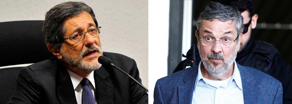 """O ex-presidente da Petrobras, José Sergio Gabrielli, contesta, em nota, a carta do ex-ministro Antonio Palocci ao PT, em que ele pede sua desfiliação e aponta uma suposta reunião no Alvorada para tratar de propinas no caso das sondas para o pré-sal; """"nunca tive qualquer reunião com o Presidente Lula e Presidenta Dilma para discutir atos de corrupção relativas as sondas para o Pre Sal brasileiro"""", diz Gabrielli; """"há uma confusão de datas nas falsas alegações de Palocci, uma vez que a pretensa reunião mencionada pelo delator teria ocorrido em 2010, mas os contratos das sondas só efetivamente foram assinados em 2011"""""""