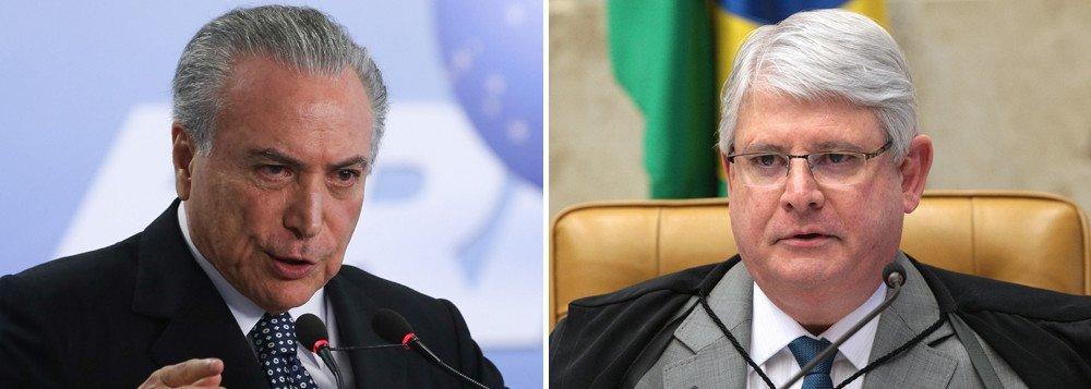 Pela terceira vez, a defesa de Michel Temer pediu a suspeição do procurador-geral da República, Rodrigo Janot, ao Supremo Tribunal Federal;o recurso foi apresentado nesta terça-feira 5 ao STF e ainda não há data para julgamento do pedido