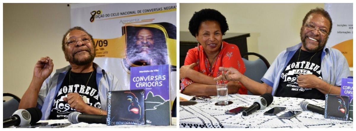 Com quase 50 anos de carreira, o cantor e compositor Martinho da Vila está em Alagoas para lançar um livro na 8ª Bienal Internacional do Livro e participar de debate sobre questões raciais durante o Ciclo de Nacional de Conversas Negras; aos 79 anos, o cantor é embaixador da Comunidade dos Países de Língua Portuguesa (CPLP) e cursa Relações Internacionais; o livro lançado é intitulado Conversas Cariocas e é uma coletânea de crônicas publicadas em jornais
