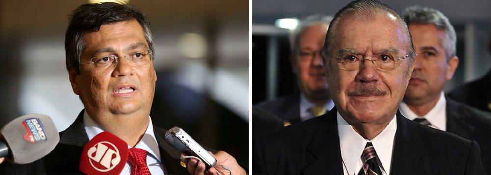 """O governador do Maranhão, Flávio Dino (PCdoB), ironizou, pelas redes sociais, o grupo Sarney por contade matéria, dando conta das """"precárias condições sociais"""" do Estado; de acordo com o chefe do executivo maranhense, a """"descoberta"""" fantástica visa tentar ocultar os processos que o ex-senador Sarney responde por participação em organizações criminosas"""