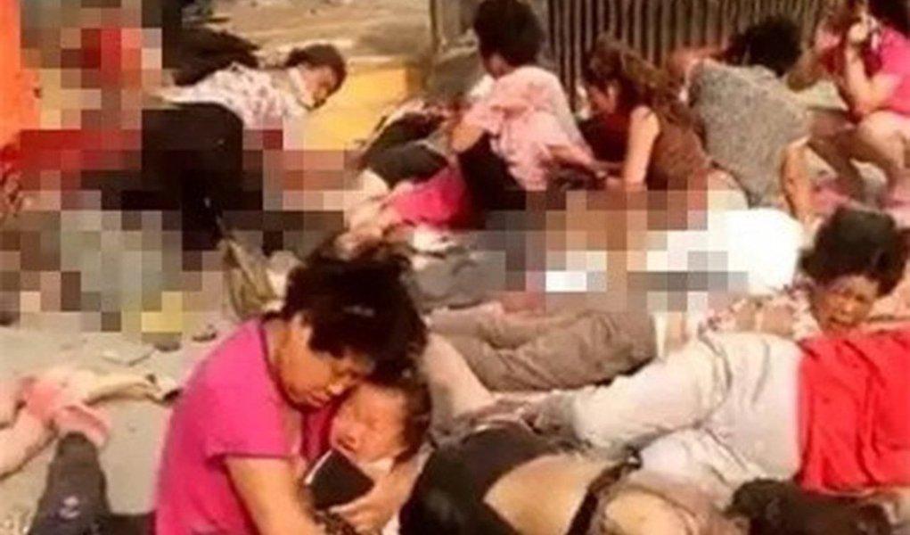 Pelo menos sete pessoas morreram e 59 ficaram feridas após uma explosão nesta quinta-feira na entrada de uma creche no Leste da China, segundo a imprensa oficial; ainda não se sabe quais as causas do acidente