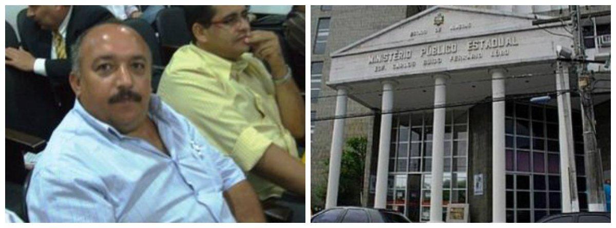 O Ministério Público Estadual (MPE-AL) denunciou o ex-prefeito de Ouro Branco, Atevaldo Cabral Silva, e mais 14 pessoas por envolvimento em diversos crimes contra a administração pública, dentre eles, fraude em licitação e organização criminosa; o ex-prefeito foi denunciado 81 vezes por peculato; de acordo com o MPE, prejuízo foi de mais de R$ 3 milhões ao Poder Executivo municipal