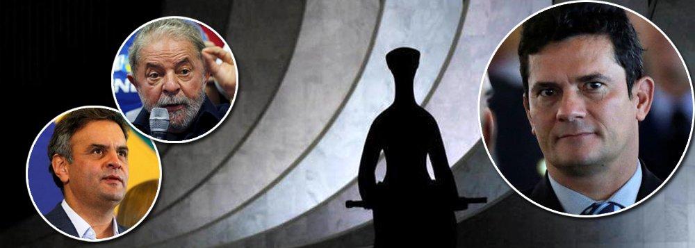 """""""O afastamento de Aécio Neves do mandato, ao que parece, foi mais uma forma de dar satisfação ao povo, pois a pena não mudará muito a sua vida, já que somente o impedirá de sair a noite para as baladas, em nada impedindo os seus conchavos políticos, que passarão a ser realizados em sua casa"""", afirma o colunista do 247, Ribamar Fonseca; """"Enquanto o juiz Sergio Moro e os procuradores da Lava-Jato fazem acrobacias para encontrar algo que possa incriminar Lula e levá-lo à prisão, as provas contra Aécio estão batendo na cara dos ministros, mas são simplesmente ignoradas. Ou seja: contra Lula existe convicção mas faltam provas, enquanto contra o tucano existem provas mas falta convicção"""", analisa Ribamar"""