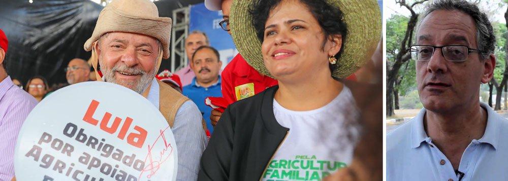 """O cientista político Gilberto Maringoni, professor da Universidade Federal do ABC (UFABC), retrata com nitidez a caravana do ex-presidente Lula pelo Nordeste; """"Lula fura todas as bolhas e parece galvanizar uma vontade coletiva dos que perderam a esperança, numa espécie de retomada de um fio condutor da Nação consigo mesma"""", diz Maringoni; """"Desesperançados e desesperados se ligam em sua pessoa, na busca de incertos """"bons tempos"""" existentes no imaginário coletivo e no diferencial do que é a hecatombe do governo Temer com seus anos no Planalto"""""""