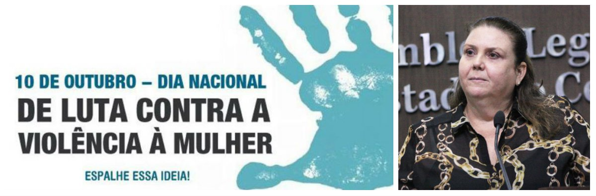 """A deputada Fernanda Pessoa (PR) destacou hoje (10), Dia Nacional Contra a Violência à Mulher, a necessidade de mudar a vida das mulheres para enfrentar o problema. """"Chega de violência e feminicídios. Só através da luta seremos capazes de mudar a vida das mulheres que vivem submetidas à violência doméstica"""", conclamou a parlamentar"""