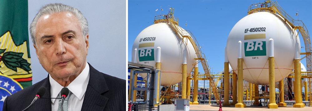 JBS reclamou com Temer da exclusividade da Petrobrás na regulação no preço do gás natural e pediu que o presidente interferisse nas negociações. Temer pediu propina equivalente a 5% do lucro que a JBS obteria nas transações. O montante chega a R$ 480 milhões em 20 anos
