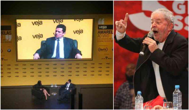 No mesmo dia em que a Paraná Pesquisas confirma Lula vencendo no primeiro turno, a revista Veja realiza evento para tentar salvar a Lava Jato