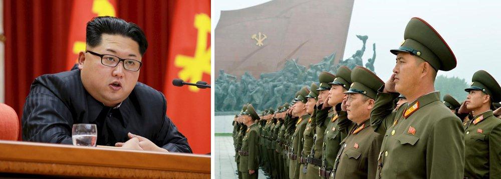 """A Coreia do Norte desafiou as sanções impostas pelo Conselho de Segurança da ONU após o sexto e maior teste nuclear do regime norte-coreano, se comprometendo a redobrar esforços para combater o que disse ser uma ameaça de invasão norte-americana; o Ministério de Relações Exteriores norte-coreano disse que o País""""redobrará os esforços para aumentar sua força para proteger a soberania e direito à existência do país estabelecendo o equilíbrio prático com os EUA"""""""